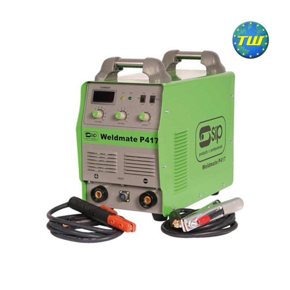 SIP 05254 Weldmate P417 390 Amp 3 Phase Arc Inverter