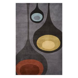 New Wave 11x8 Steel 849 Now Featured On Fab Hand Tufted Rugs Wool Area Rugs Area Rugs