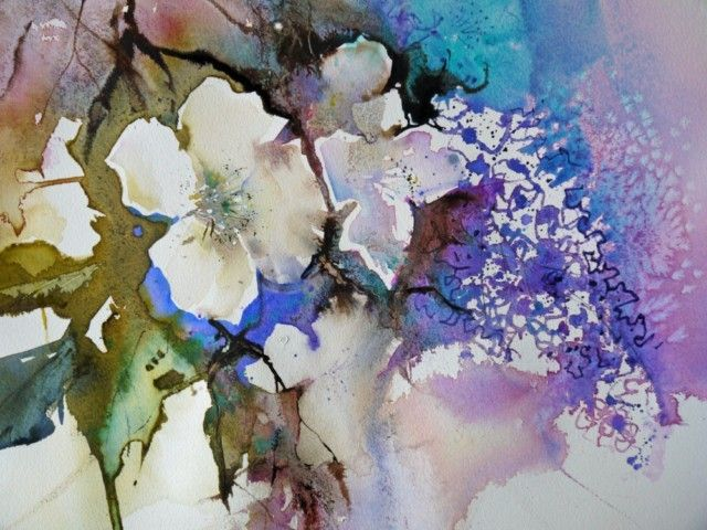 Experimental Flowers In Watercolour With Ann Blockley Swa Flower