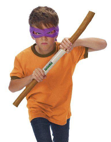 TMNT Teenage Mutant Ninja Turtles Donatello Combat Gear BO Staff Bandana Stars