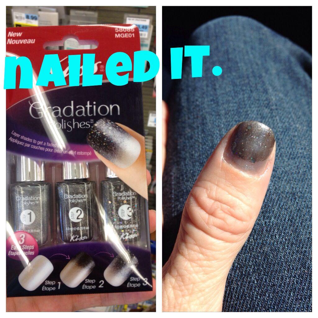 Nailed it Haha, Funny, Nails