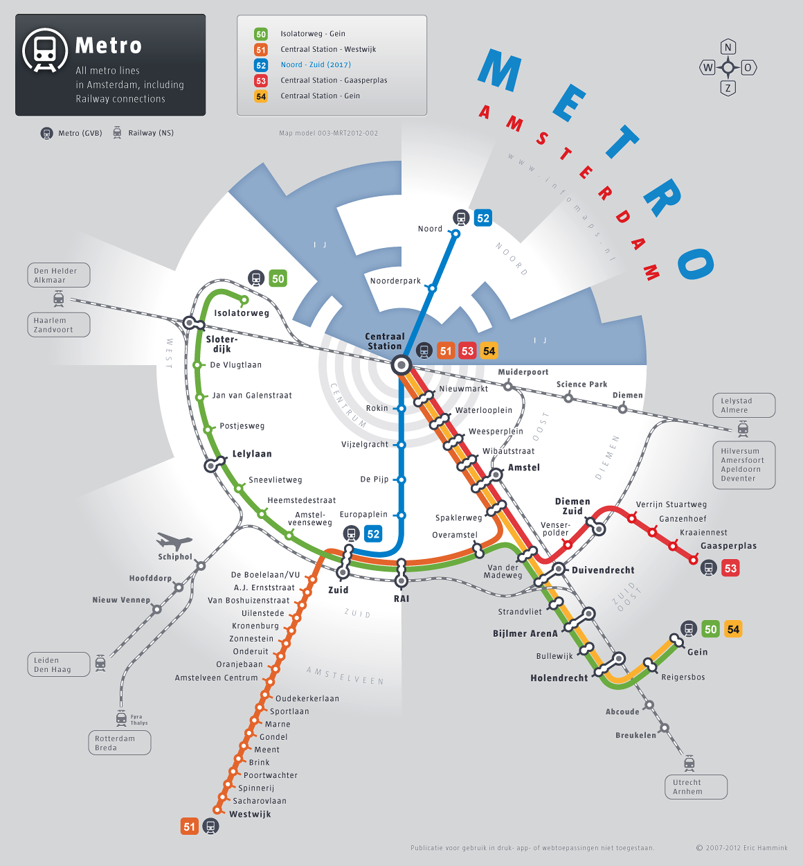 Amsterdam Subway Map.Alternative Transit Map For Amsterdam Maps Subway Map Map Map