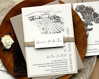 Succulent Wedding Invitations Gold and Blush Invitations Date