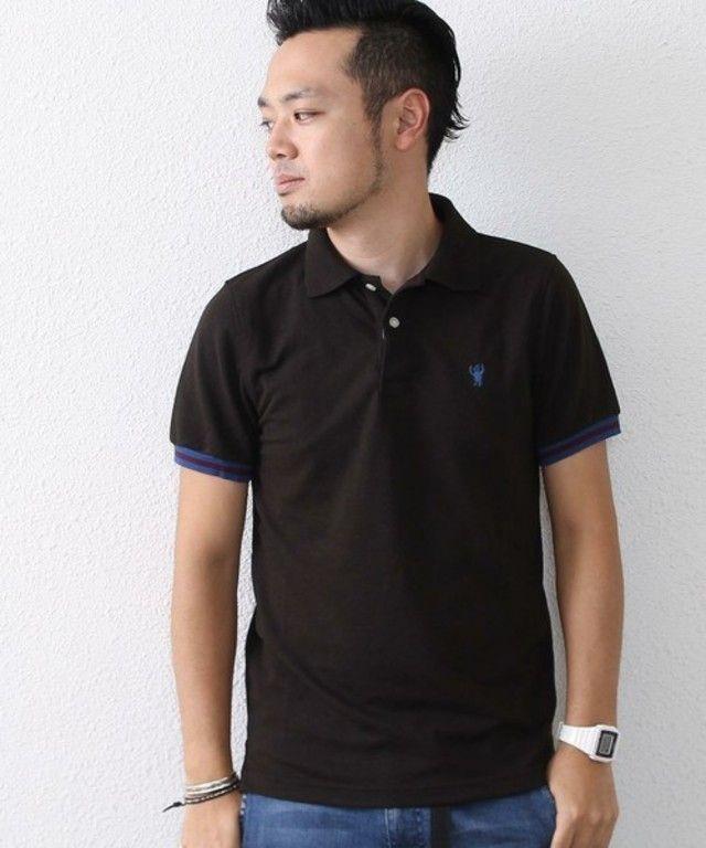 【【スマイルプライス】TC鹿の子ポロシャツ】新作ながらも1,900円 税というお値打ち価格となっているベー…