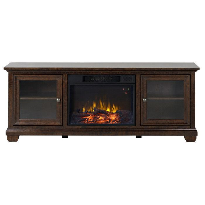 Homestar Verona Tv Stand With Electric Fireplace New House