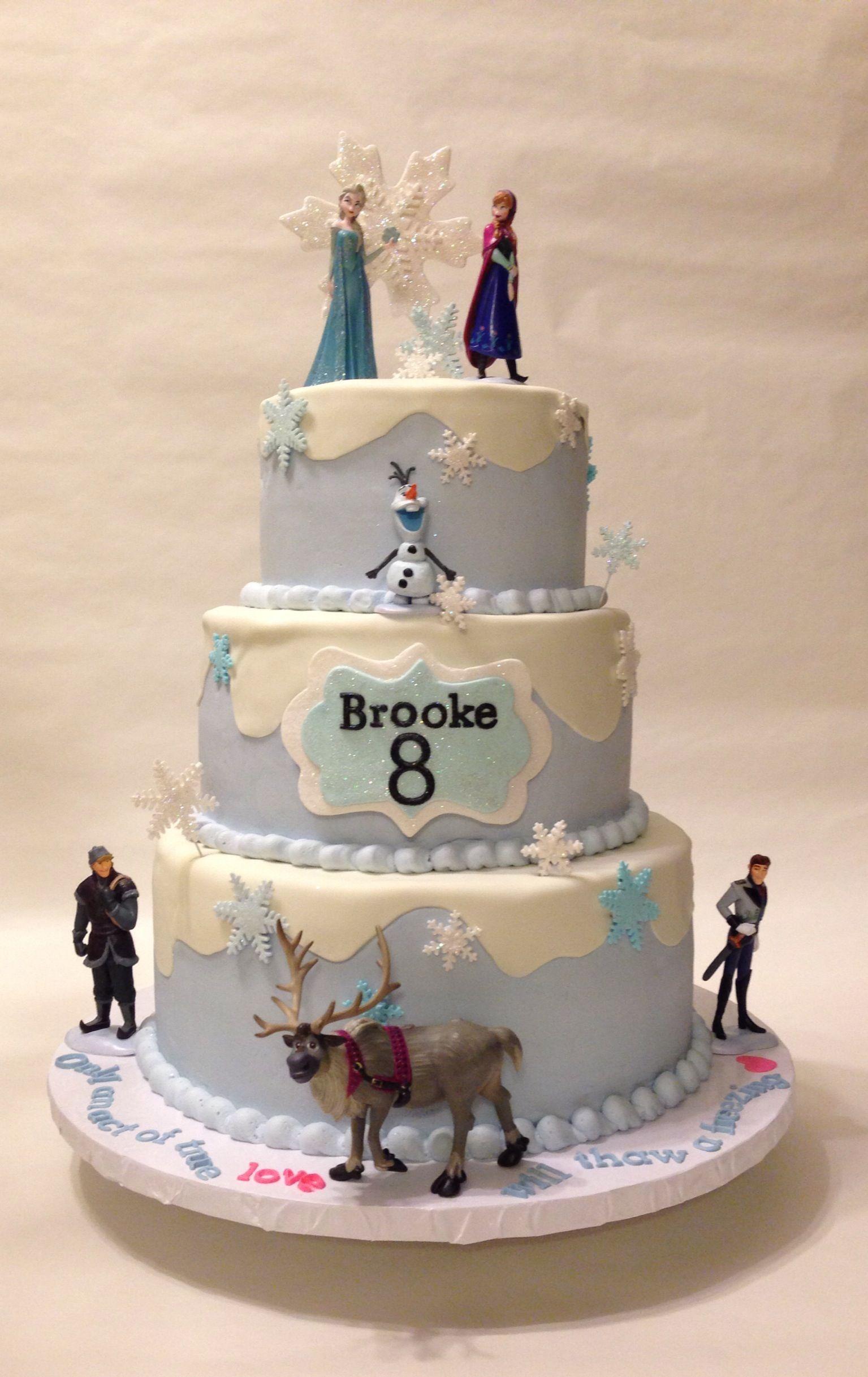 Disney Frozen cake | Take the Cake!! | Pinterest | Disney ...