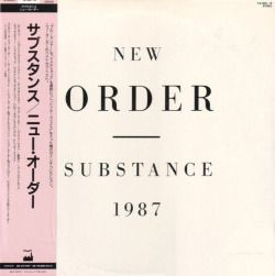 vinyloid: New Order - Substance (Japan)