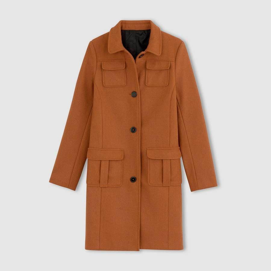 4df22246b314 ... 30 manteaux soldés à shopper sans tarder - Elle. Manteau soldé La  Redoute