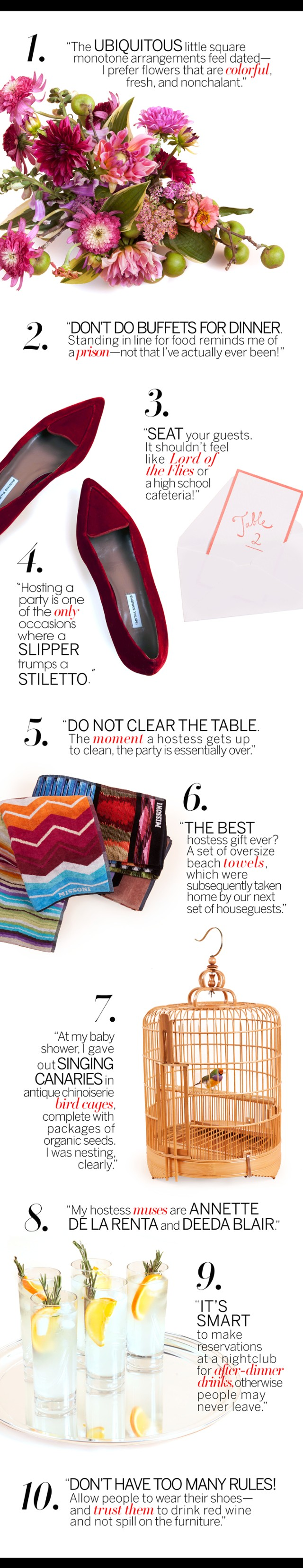 Index Annex: Lauren Santo Domingo's Hostess' Primer - Vogue Daily - Fashion and Beauty News and Features