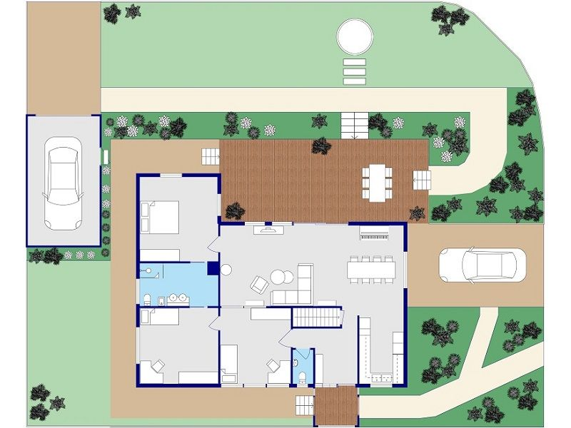 create site plans home design