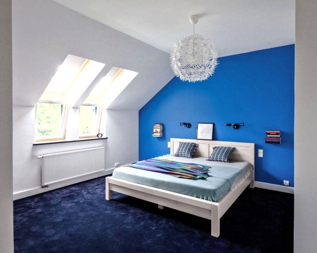 Schlafzimmer Dachschr臠e Tapete