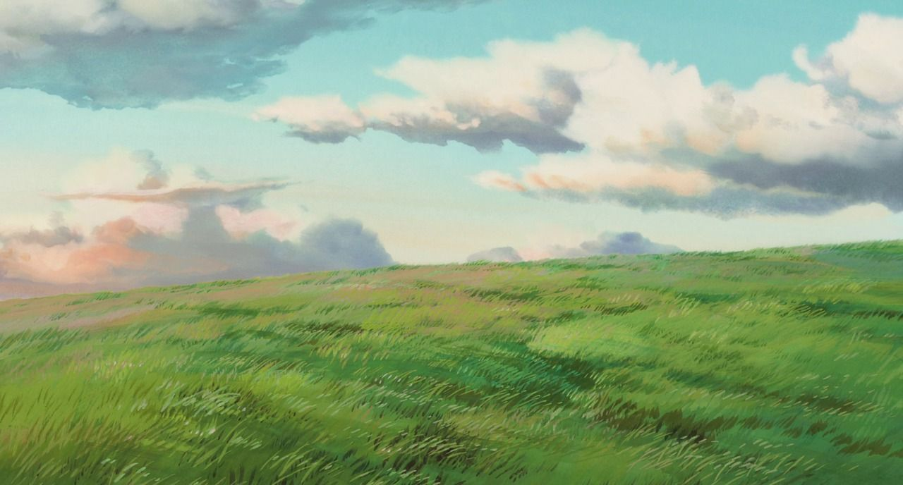 studio ghibli backgrounds! Photo Illustration