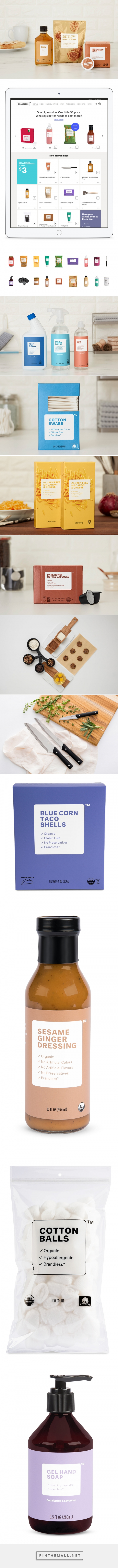 How Brandless Keeps it Simple — The Dieline | Packaging & Branding Design & Innovation News... - a grouped images picture - Pin Them All