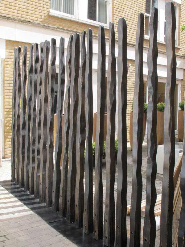 Maori Modern Architecture Fence   Modern Garden Fence, Divider