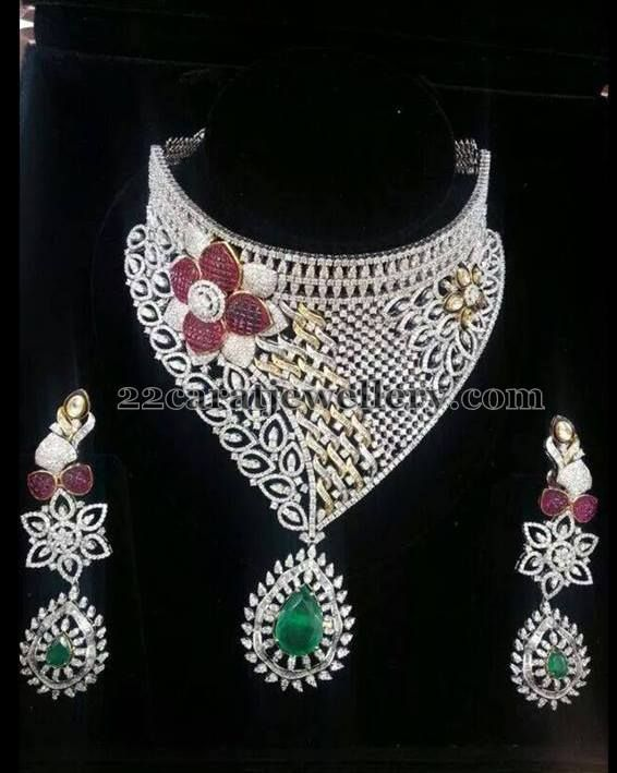 Detacahble Heavy Diamond Bridal Set Diamond Bridal Sets Diamond Wedding Jewelry Bridal Jewelry