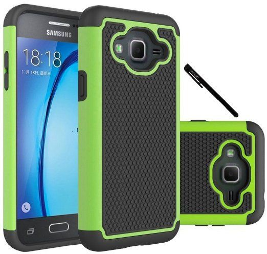 sports shoes c9a6a bad51 Amazon.com: Galaxy J3 Case, Galaxy Amp Prime Case, Galaxy Express ...
