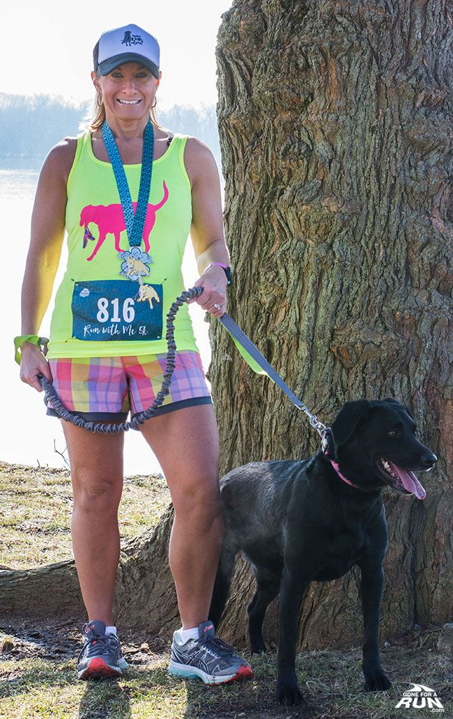 I know how much my dog loves to run with me and I am so excited to have her join me on her first Virtual Race - The Run With Me 5K!