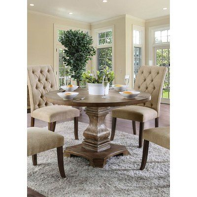 Birch Lane Heritage Calila Dining Table Round Dining Table