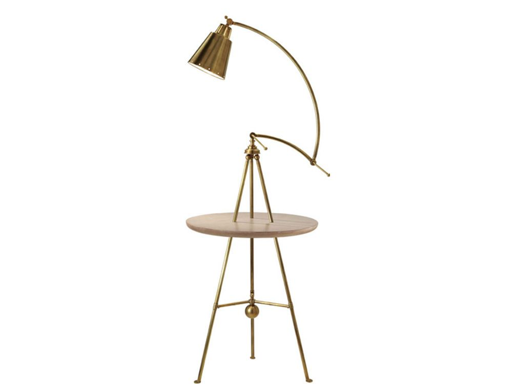 Floor Lamp With Table Attached Amusing About  And Beige  Mid Century Modern Lamp  Furniture  Pinterest Design Ideas
