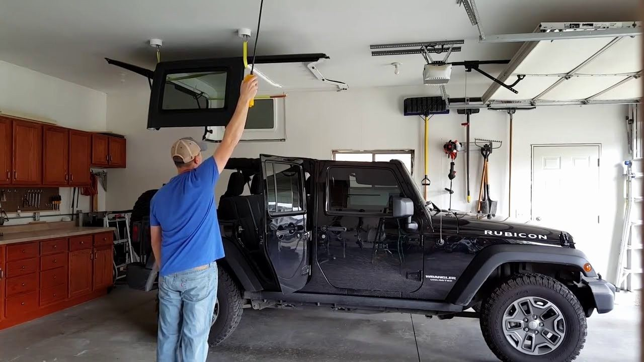 Best Jeep Hardtop Hoist Of 2020 Make Your Task Easy Jeep