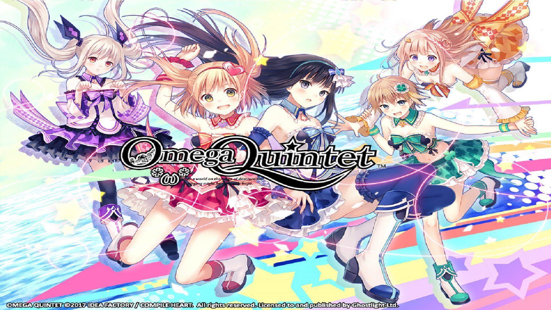 JRPG/Idol Simulation Omega Quintet Coming to PC Omega
