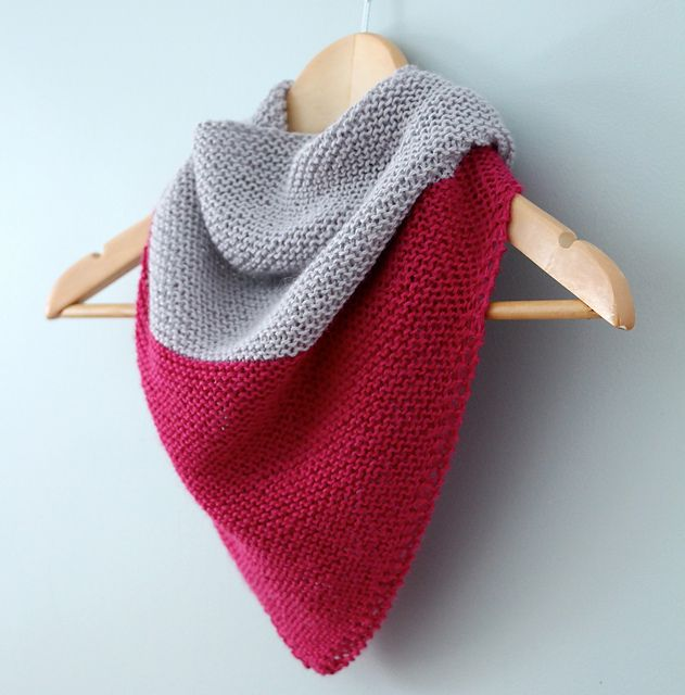 Ravelry: Colorblock Shawl pattern by Jennifer Pfeiffer | Knitting ...