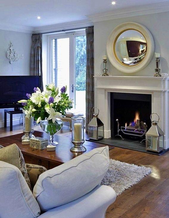 Living Room Decor And Design Ideas | Interiores de casa ... on Room Decor Paredes Aesthetic id=50616