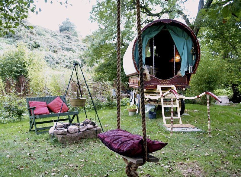 They call this Gypsy Camping in England #gypsysetup