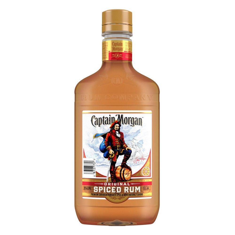 Captain Morgan Spiced Rum 375ml Spiced Rum Rum Captain Morgan
