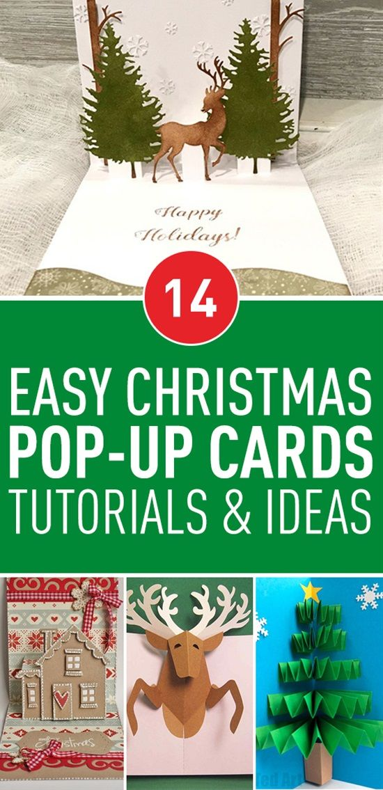 14 easy christmas pop up cards tutorials ideas pinterest sending a christmas greeting card to someone who is close to your heart but far way in distance is a nice way to say merry christmas to them m4hsunfo