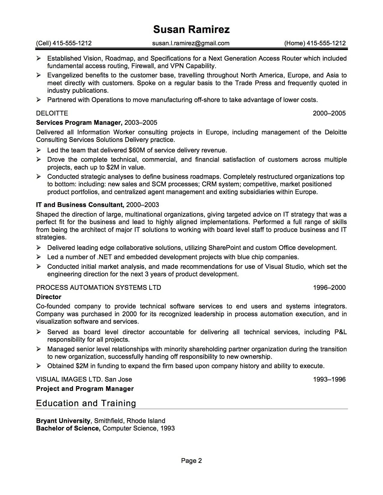 Clarkson University Senior Computer Science Resume Sample - http ...