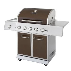 Dyna Glo 5 Burner Stainless Steel Propane Gas Grill With Side Burner Dge530bsp D At The Home Depot Best Gas Grills Gas Grill Propane Grill