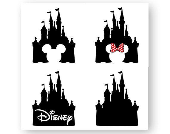 Disney Castle Icon Mickey Mouse Icon Minnie Logo Head Disney Castle Silhouette Disney Tattoos Disney Castle Drawing