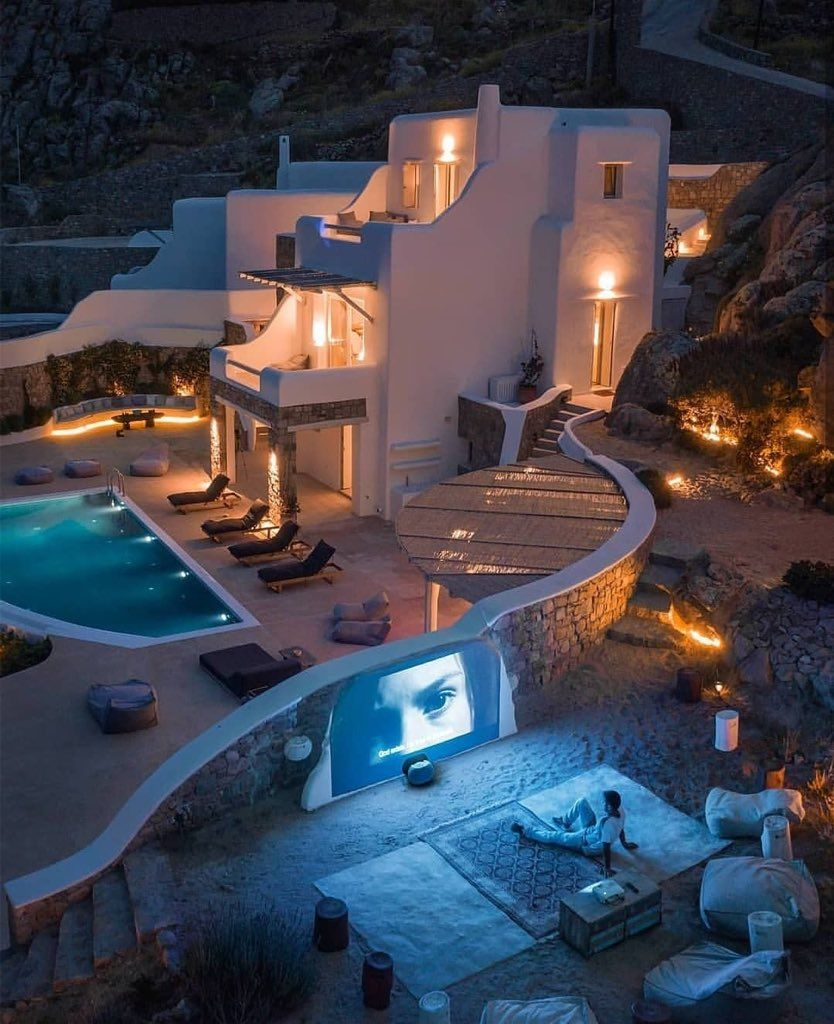 Etoile On Twitter Mykonos Mansions House
