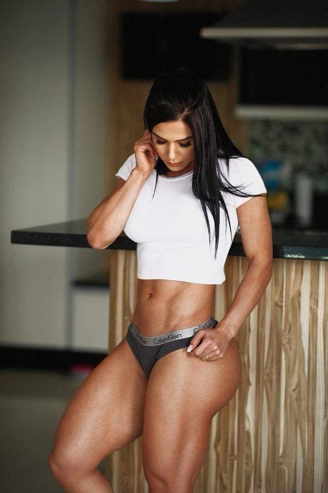 Бразильская фитнес модель ева андресса фото