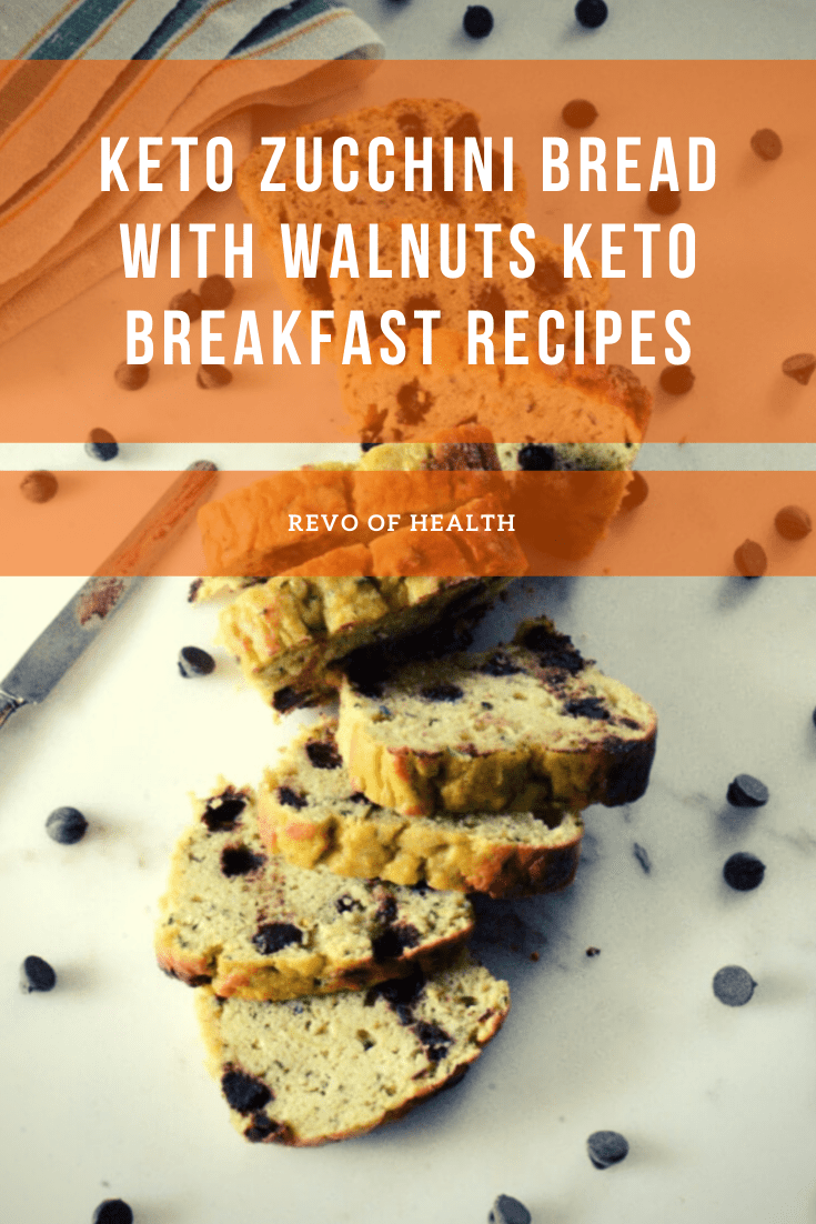 Photo of Keto Zucchini Bread with Walnuts KETO BREAKFAST RECIPES