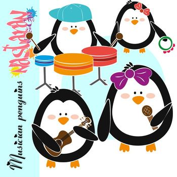 musician penguins clipart clip art musicians and penguins rh pinterest com mass clipart black and white moss clipart
