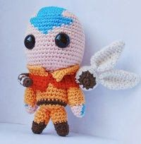 2000 Free Amigurumi Patterns: Aang from the Last Air Bender