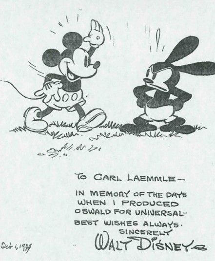 Mickey Mouse and Oswald the Lucky Rabbit in pictures - Telegraph