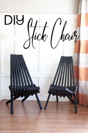 Kentucky Stick Chair Ritning
