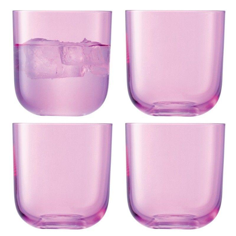 Pink glasses, Centro glazenset roze
