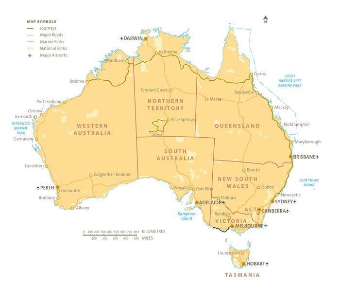 Australia Map Kilometers.About Australia Basic Facts Capital City Canberra Surface