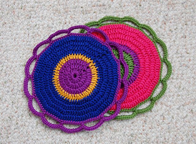 potholders (one side) by if time exists