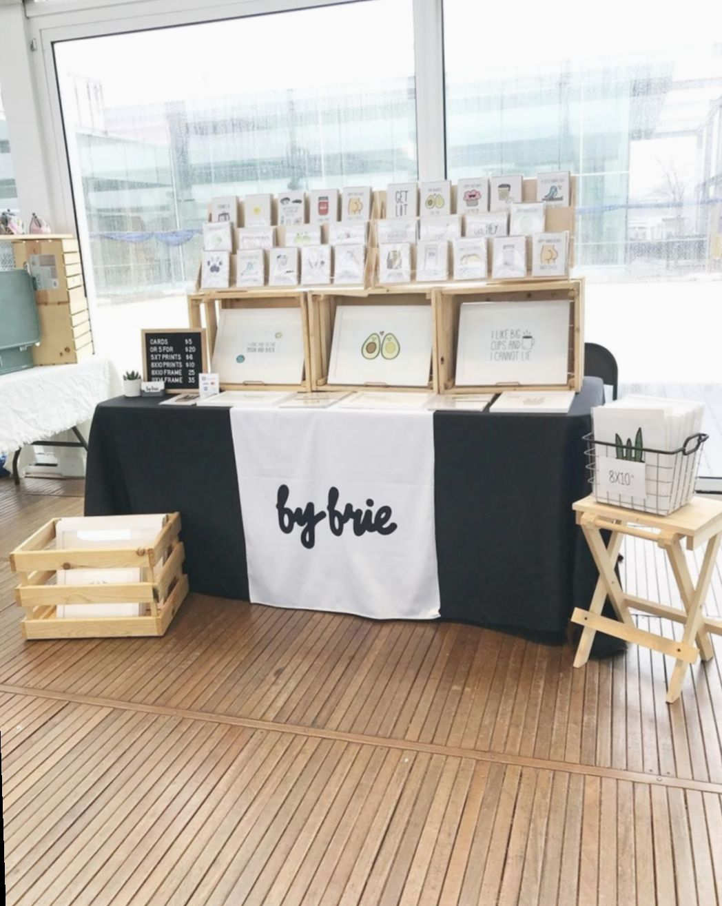 Diy Table Cloth For Craft Show Nature Cabintinyhousebuilder Minimalist Craft Fair Booth Display Craft Booth Displays Craft Stall Display