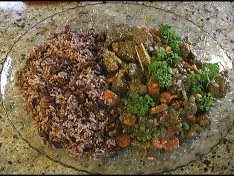 Bermuda Style Curried Lamb Stew - YouTube