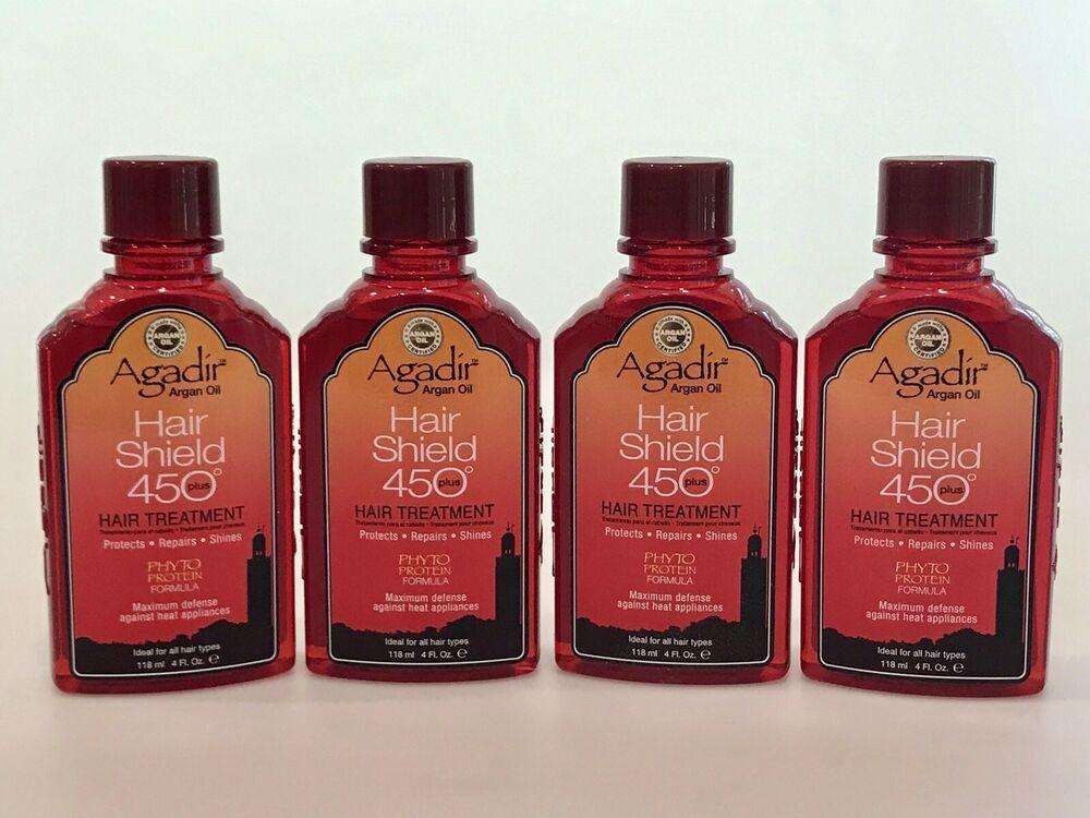 4 Agadir Argan Oil Hair Shield 450 Plus Treatments 4 oz