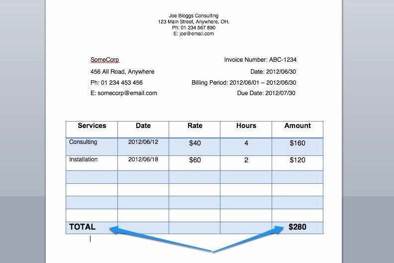 Invoice For Services Rendered Template Unique Write An Invoice For Payment For Services Rendered Invoice Template Invoicing Budget Template