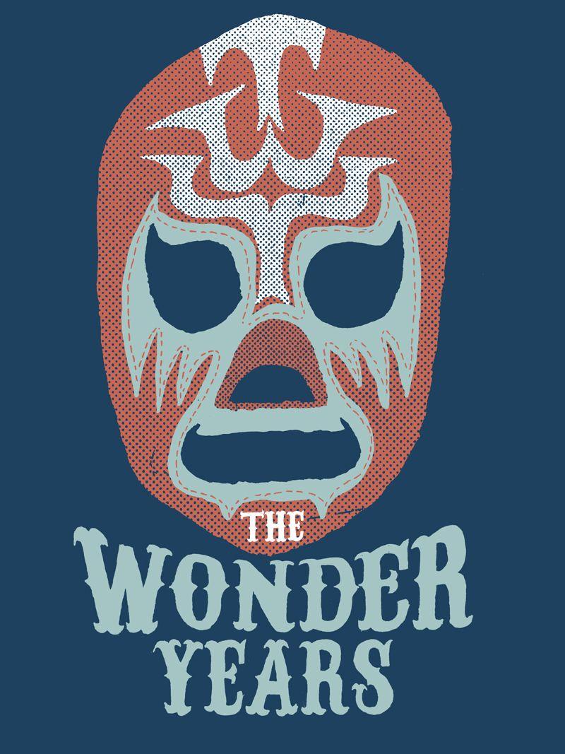 James Heimer Illustration: The Wonder Years LUCHADOR