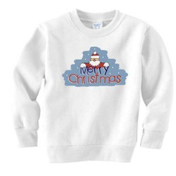 Merry Christmas Holiday Sweatshirt (4T) PCS Creations. $51.00