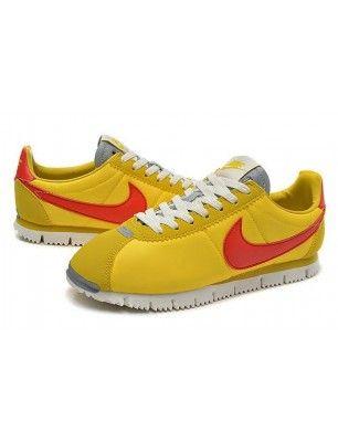 zapatillas nike cortez amarillas